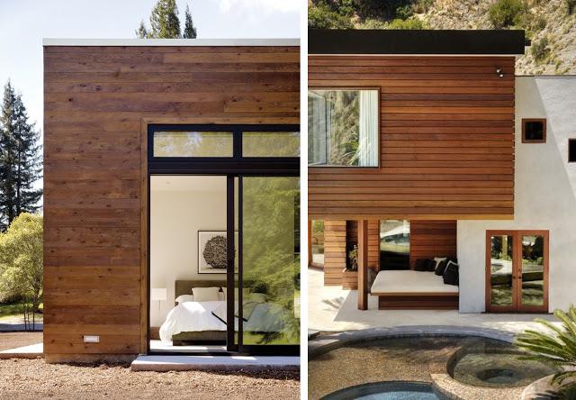 Revestimientos de madera en exterior - Imitacion madera para fachadas ...