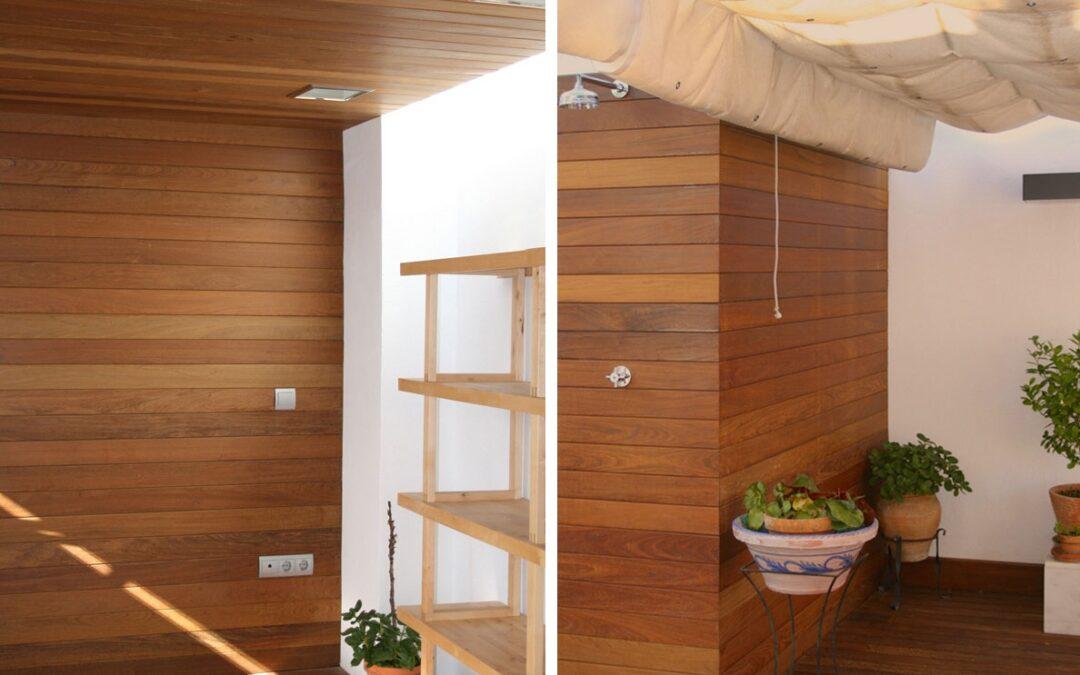 Revestimientos de pared de madera