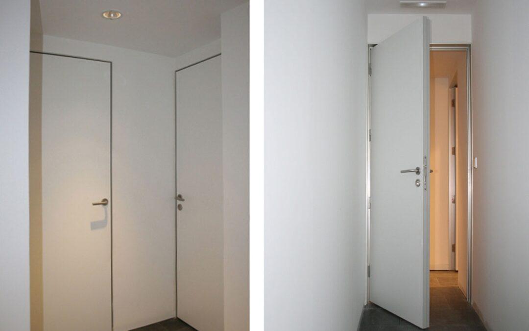 Puertas de madera invisibles