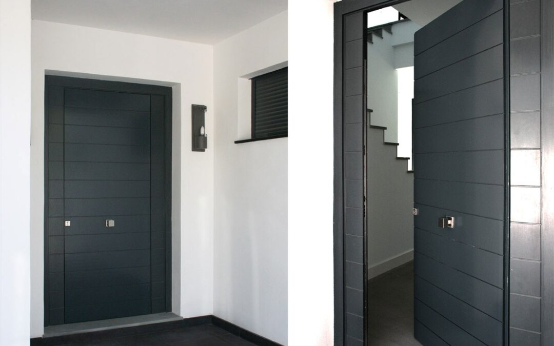Puertas de exterior de madera