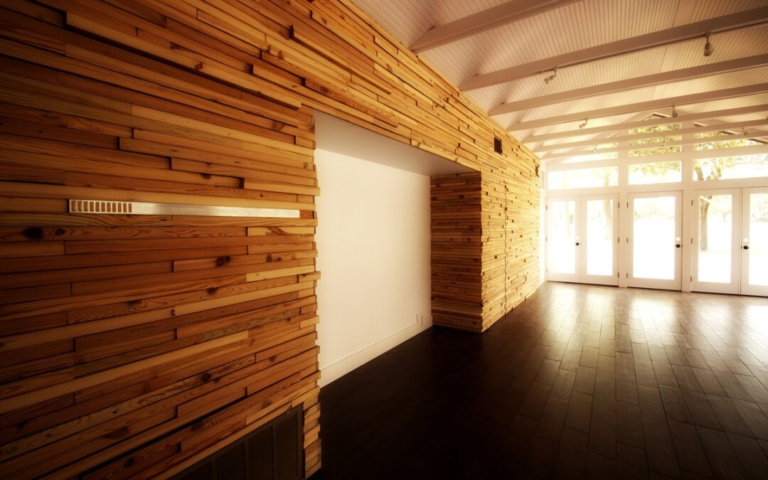 Revestimientos de madera reciclada. Inspiración