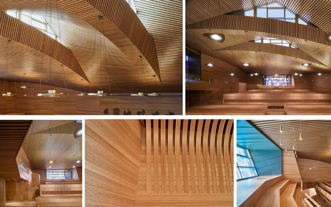 Las propiedades acústicas del bambú de GUBIA, telón de fondo de los ensayos de la Sinfónica de California en el Colegio Retamar de Madrid