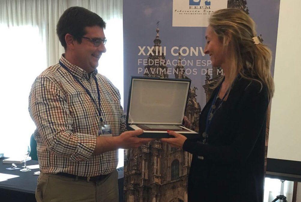 Grupo GUBIA recibe el Premio al mejor pavimento 2016