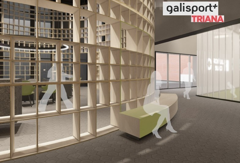 Galisport and Gubia joined by wood designs