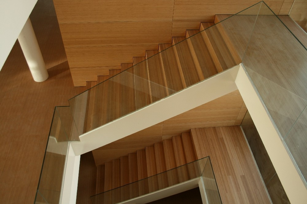 Bamboo staircase for the Motril TGSS