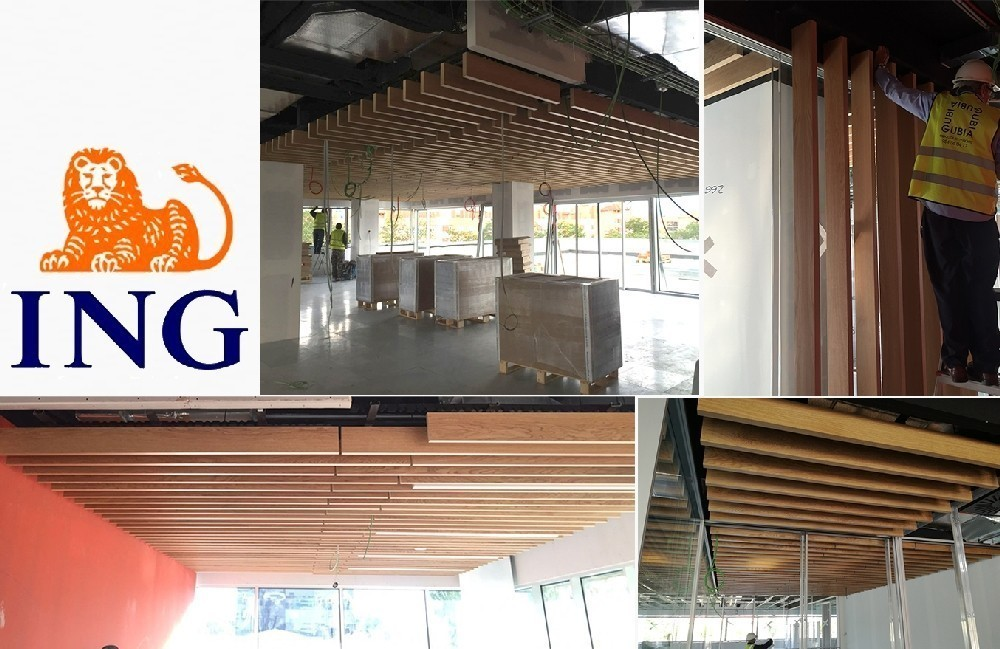 GUBIA in the new offices of ING