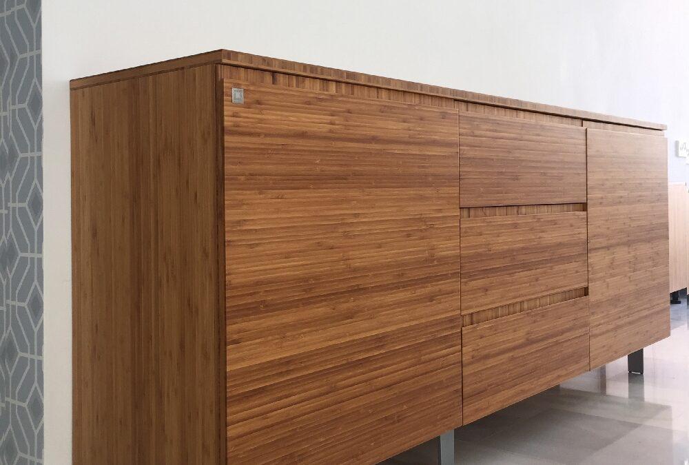Mueble Aparador de bambú