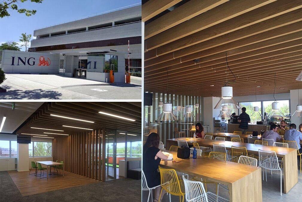 Gubia contribuye al sello BREEAM de la nueva sede de ING en Madrid