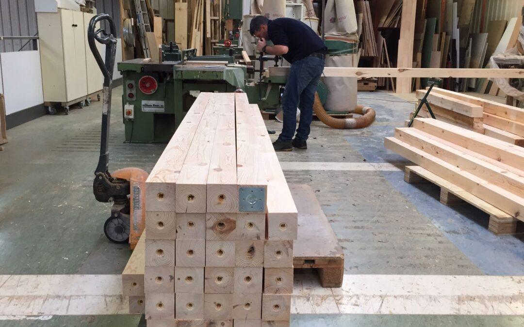 Duplicamos tu espacio con una entreplanta de madera