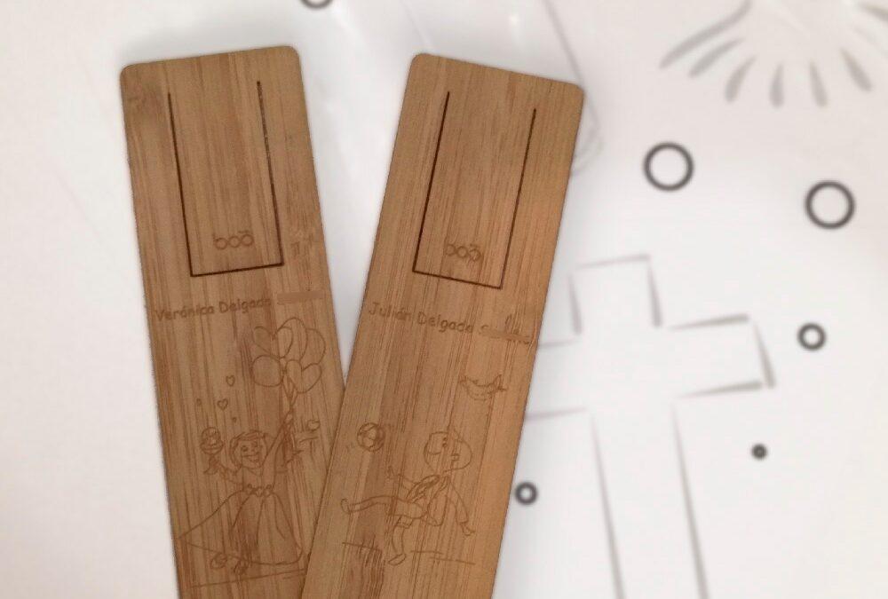 Regalitos de comunión en bambú