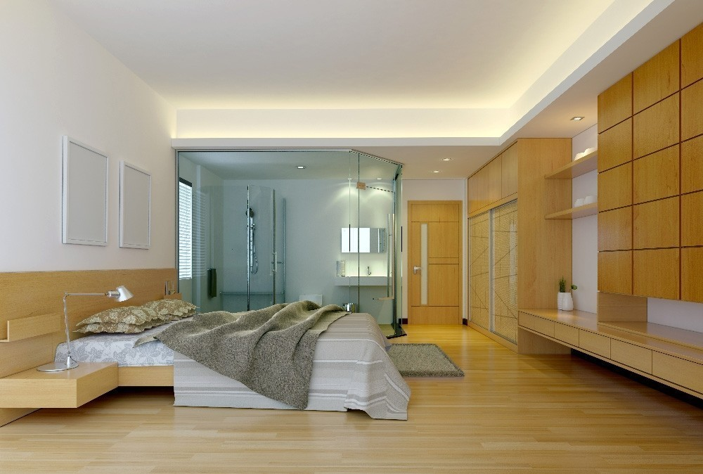 Mobiliario a medida en dormitorio