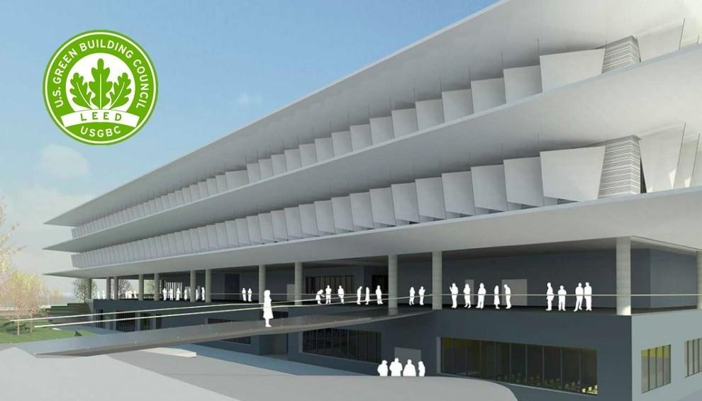El nuevo campus de Loyola opta por la sostenibilidad del bambú