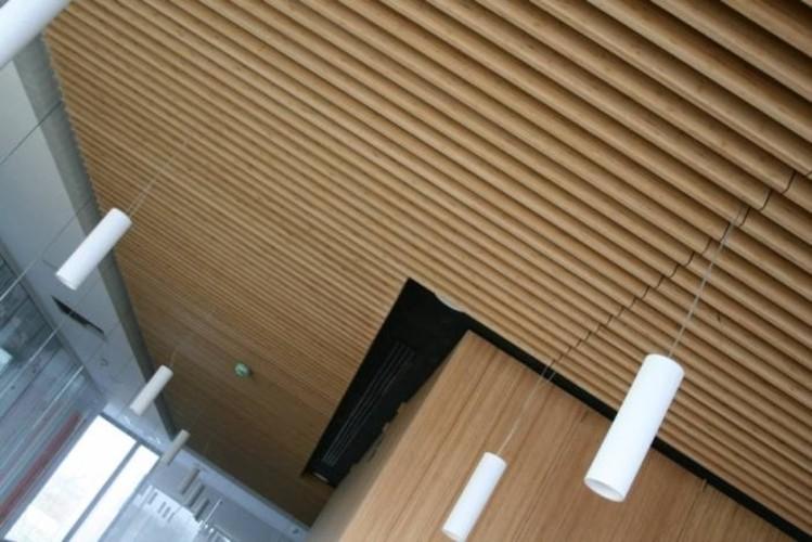 GUBIA-SLATS, un novedoso techo de lamas de madera o bambú