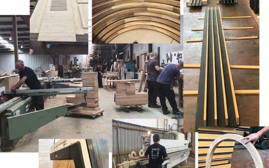El bambú vuelve a ser protagonista en el CICCP de Madrid