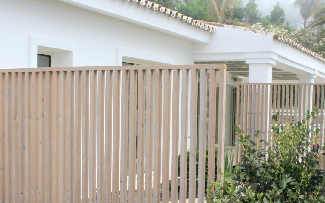 Revestimiento de fachada termo-tratada exterior